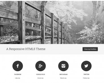 Minimum Pro theme screenshot