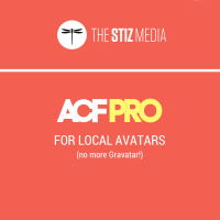 Use Advanced Custom Fields Pro for Simple, Local Avatars