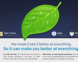 Coda 2 Homepage