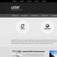 "Sneak Peak of the new ""Latent"" child theme for Genesis 2.0"