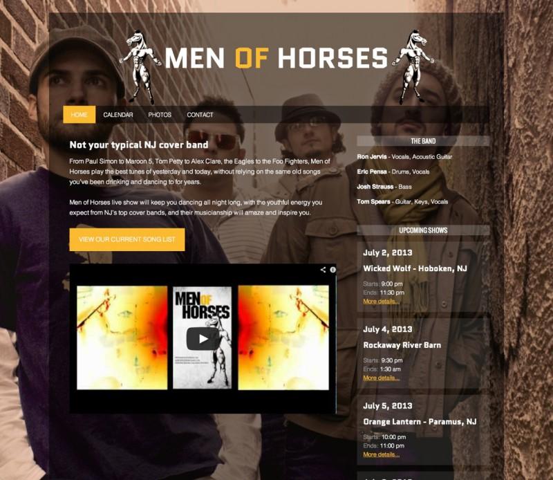 Men Of Horses - NJ Cover Band