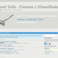 Tent Talk website