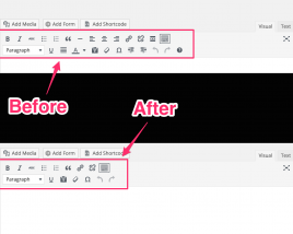 Remove Buttons/Items From The WordPress TinyMCE Editor