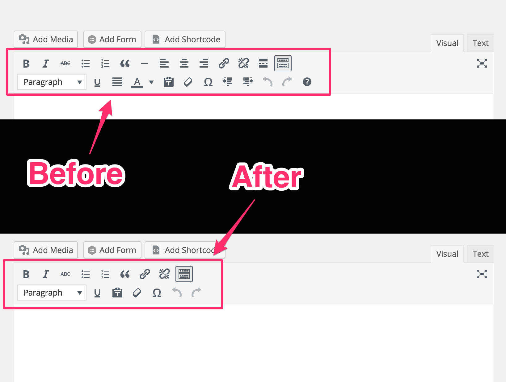 Remove Buttons/Items From The WordPress TinyMCE Editor - The Stiz