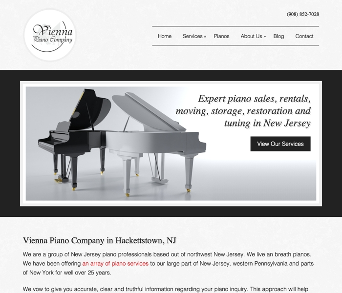 Vienna Piano, Hackettstown NJ
